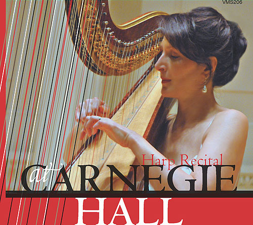 Suzanna Klintcharova at Carnegie Hall